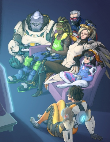 Overwatch Games Night